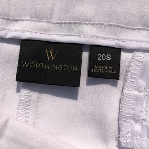 Worthington Pants - Women's Worthington White Pants NWT